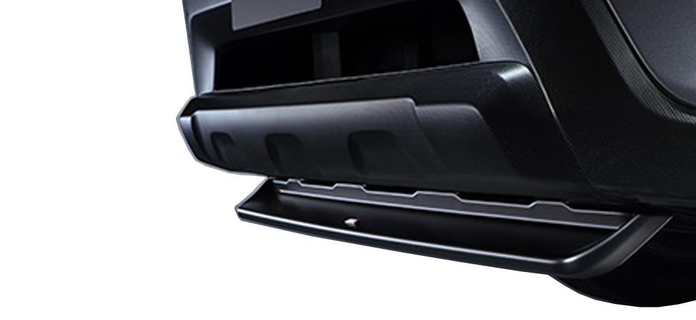 【スバル】【STI】【代引/コンビニ不可】ST96020SE090 フロントリップスポイラー(ブラック) フォレスター(SK)