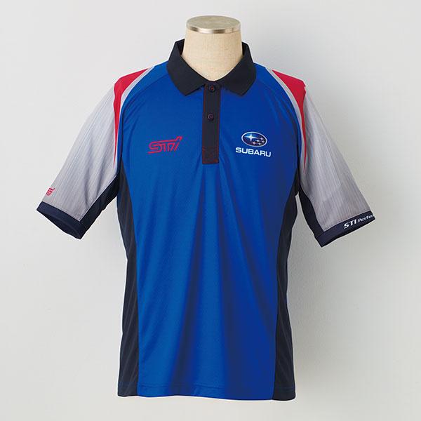 【STI-スバル】【SUBARU/STIチーム】チームポロシャツ2018年モデル