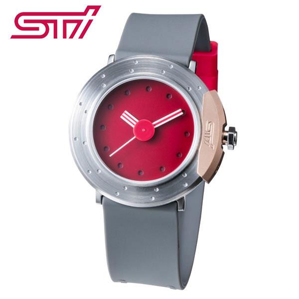 STSG19100960【スバル公式】STIデザインオリジナルウォッチ Original Watch designed by STI チェリーレッド【代引不可】腕時計