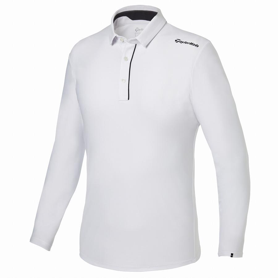 テーラーメイドゴルフ(TaylorMade Golf) テイラード L/S ポロ/ホワイト /KY661 /U32805