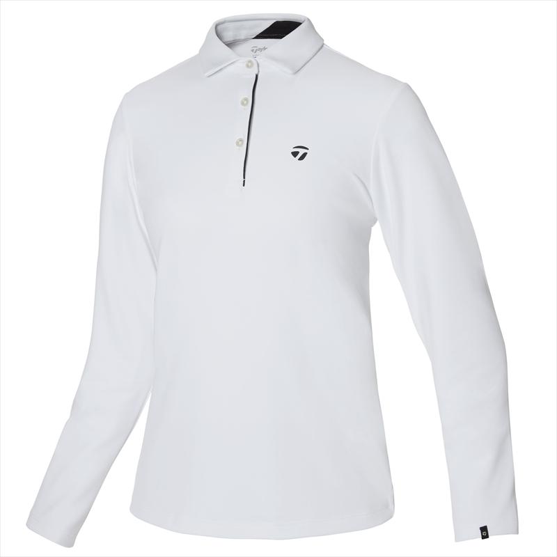 テーラーメイドゴルフ(TaylorMade Golf) 【ウィメンズ】 テーラードピケ L/Sポロ/ホワイト /KY560 /U32562