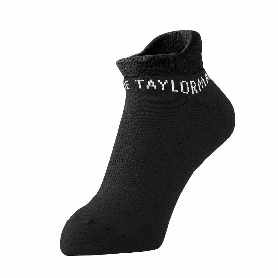 公式ショップ TaylorMade Golf 正規激安 テーラーメイド ゴルフ Mアンクルソックス 70%OFFアウトレット ブラック
