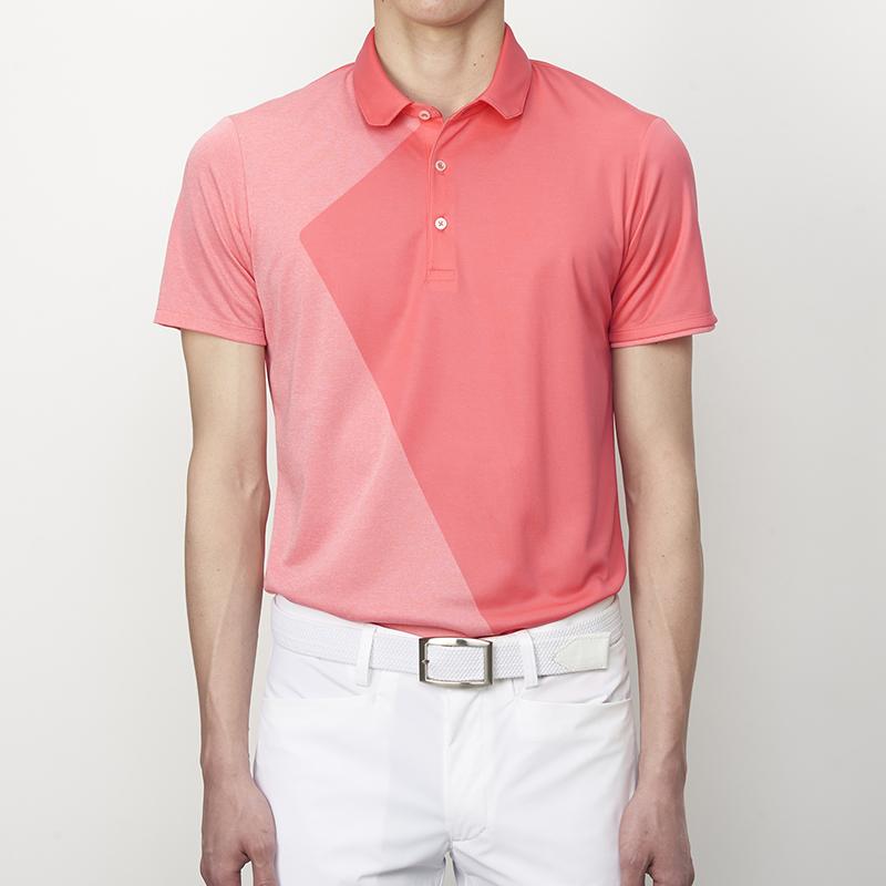 テーラーメイドゴルフ(TaylorMade Golf) テイラード・クーリングS/Sポロ/ピンク /KL901 /N64909