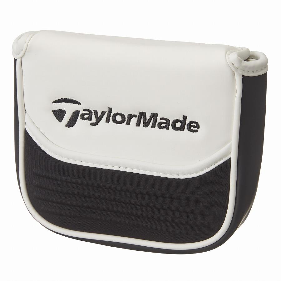 公式ショップ TaylorMade Golf テーラーメイド ゴルフ 人気 2020新作 モールドパネル ホワイト マレット パターカバー