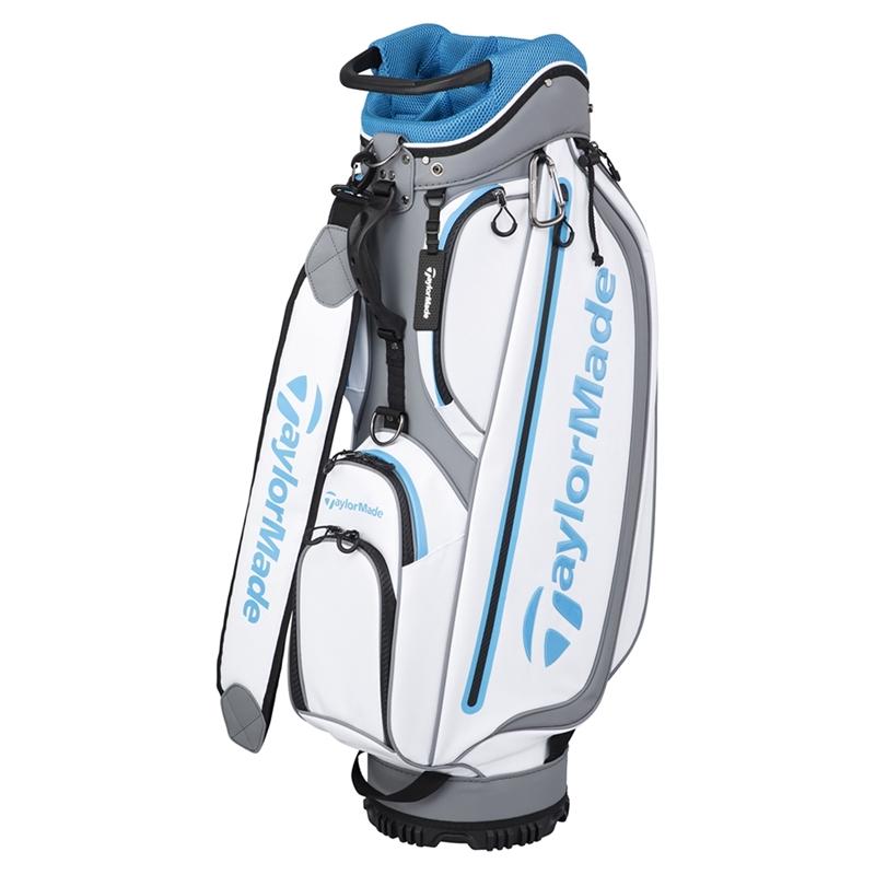 テーラーメイドゴルフ(TaylorMade Golf) TM ウォーターリペレント キャディバッグ/ホワイト /KY319 /U24312