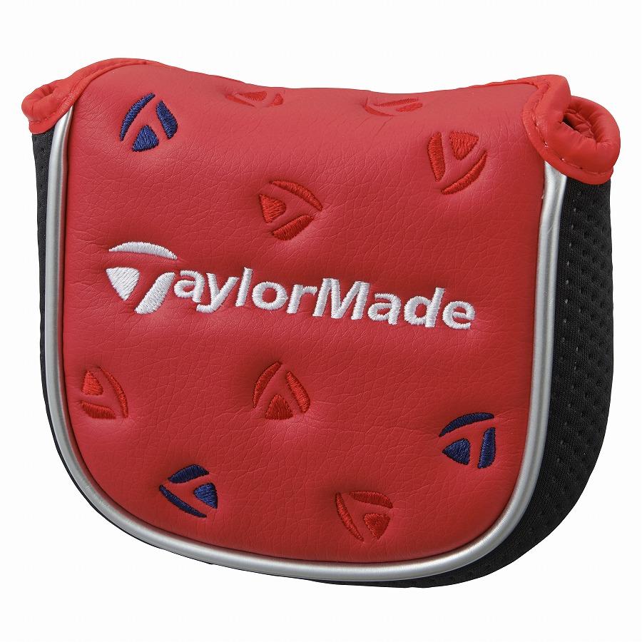 セール 特集 公式ショップ TaylorMade Golf テーラーメイド ゴルフ パターカバー レッド 着後レビューで 送料無料 メタルT マレット