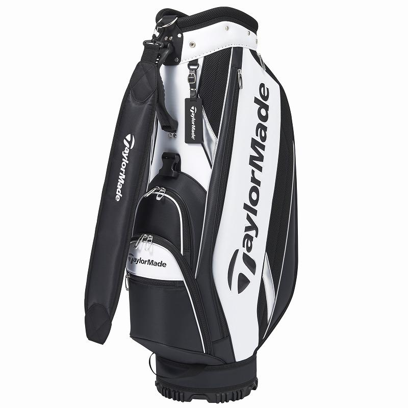 テーラーメイドゴルフ(TaylorMade Golf) トゥルーライト キャディバッグ/ホワイト/ブラック /KY833 /M72305