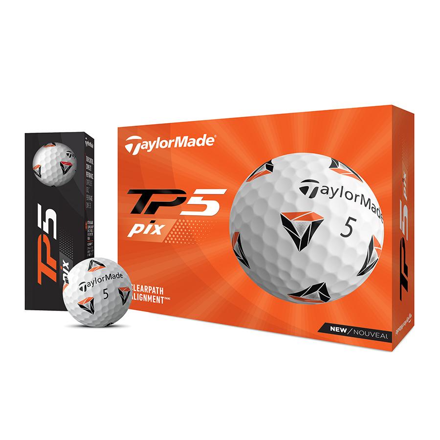 公式ショップ TaylorMade Golf 春の新作続々 テーラーメイド ゴルフ Pix '21 TP5 New ボール 情熱セール