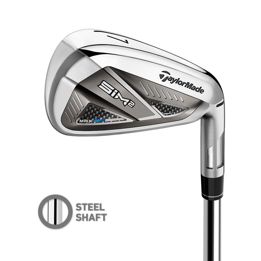 公式ショップ TaylorMade Golf テーラーメイド ゴルフ SIM2 MAX MT 5本セット IRG アイアン 専門店 #6-P KBS 希望者のみラッピング無料