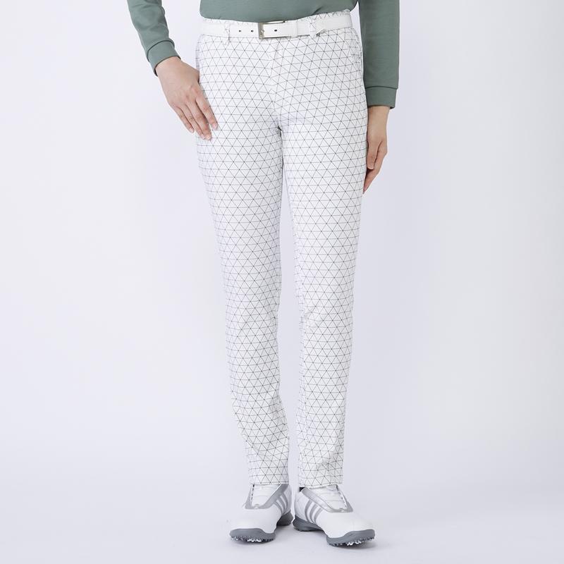 テーラーメイドゴルフ(TaylorMade Golf) トライアングル グラフィック ロングパンツ/ホワイト /KX757 /U23853