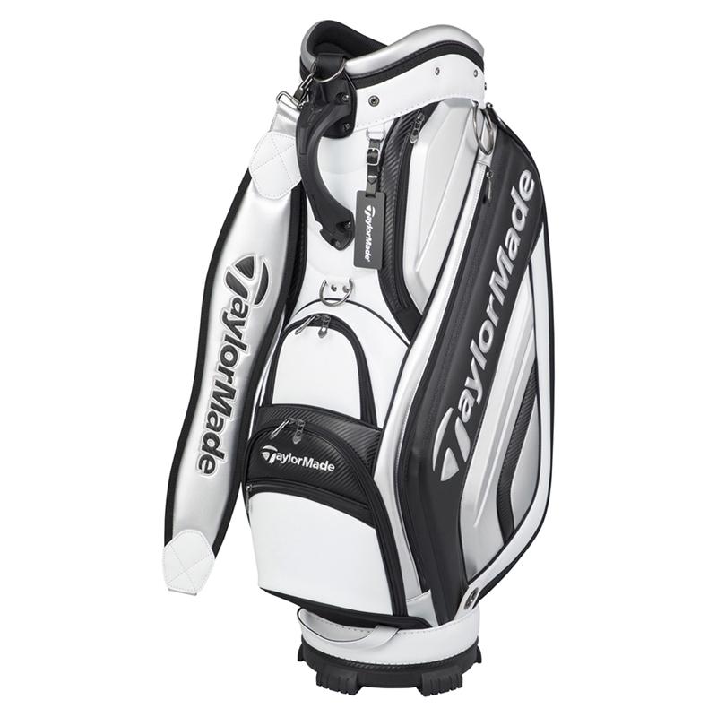 テーラーメイドゴルフ(TaylorMade Golf) TM オーステック キャディバッグ/ホワイト/ブラック /KY403 /U24648
