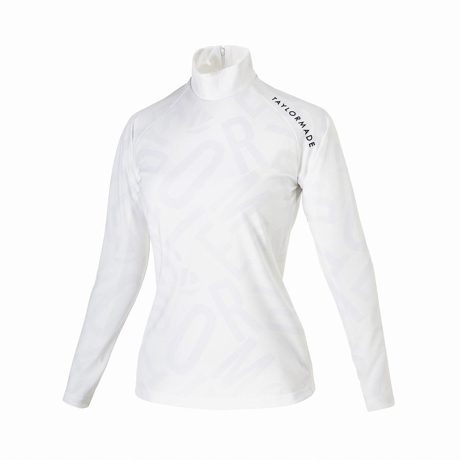 公式ショップ TaylorMade Golf テーラーメイド ゴルフ 1着でも送料無料 即納最大半額 ホワイト ウィメンズ TMプリントL Sモック