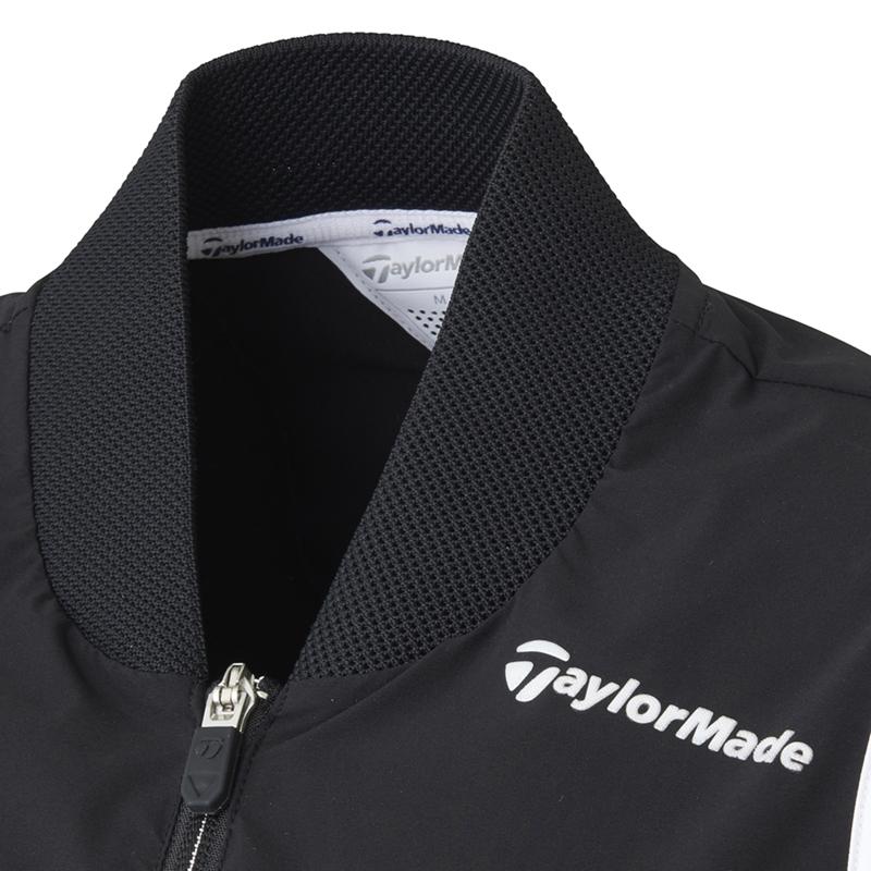 テーラーメイドゴルフ(TaylorMade Golf) アンラインド ウインドベスト/ブラック /KY436 /U24741