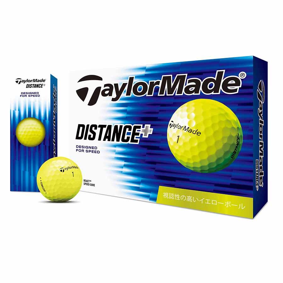 テーラーメイドゴルフ(TaylorMade Golf) ディスタンス+ イエロー ボール