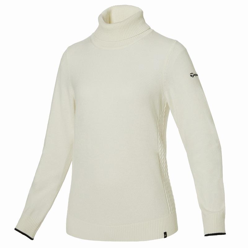 テーラーメイドゴルフ(TaylorMade Golf) 【ウィメンズ】 カシミヤブレンドセーター/ホワイト /KY555 /U32547