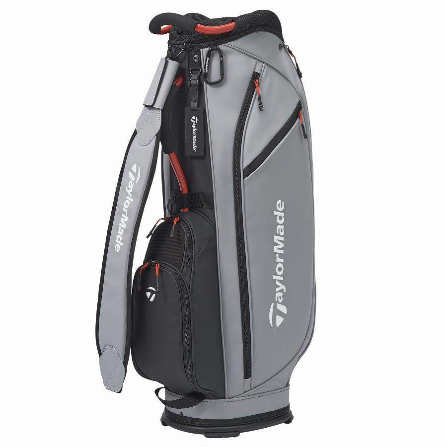テーラーメイドゴルフ(TaylorMade Golf) シティテック アルミフレーム キャディバッグ/グレー /KY831 /M72297