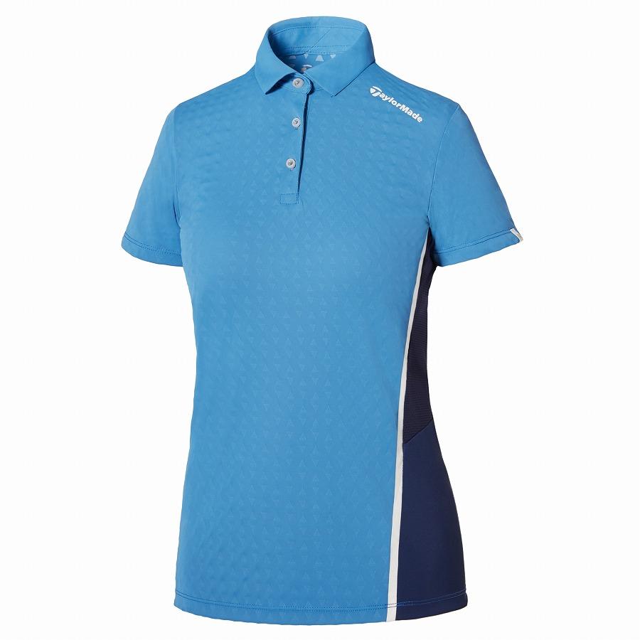 テーラーメイドゴルフ(TaylorMade Golf) テイラードクール サマー S/S ポロ/ライトブルー