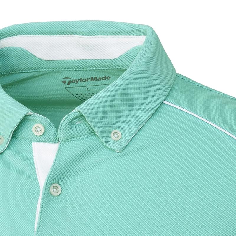 テーラーメイドゴルフ(TaylorMade Golf) テイラード ピケ L/S ポロ/ミント /LOB93 /U24333