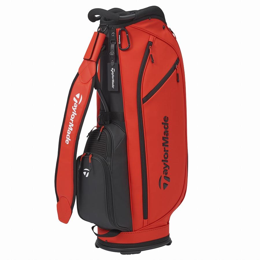 テーラーメイドゴルフ(TaylorMade Golf) シティテック アルミフレーム キャディバッグ/オレンジ /KY831 /M72298