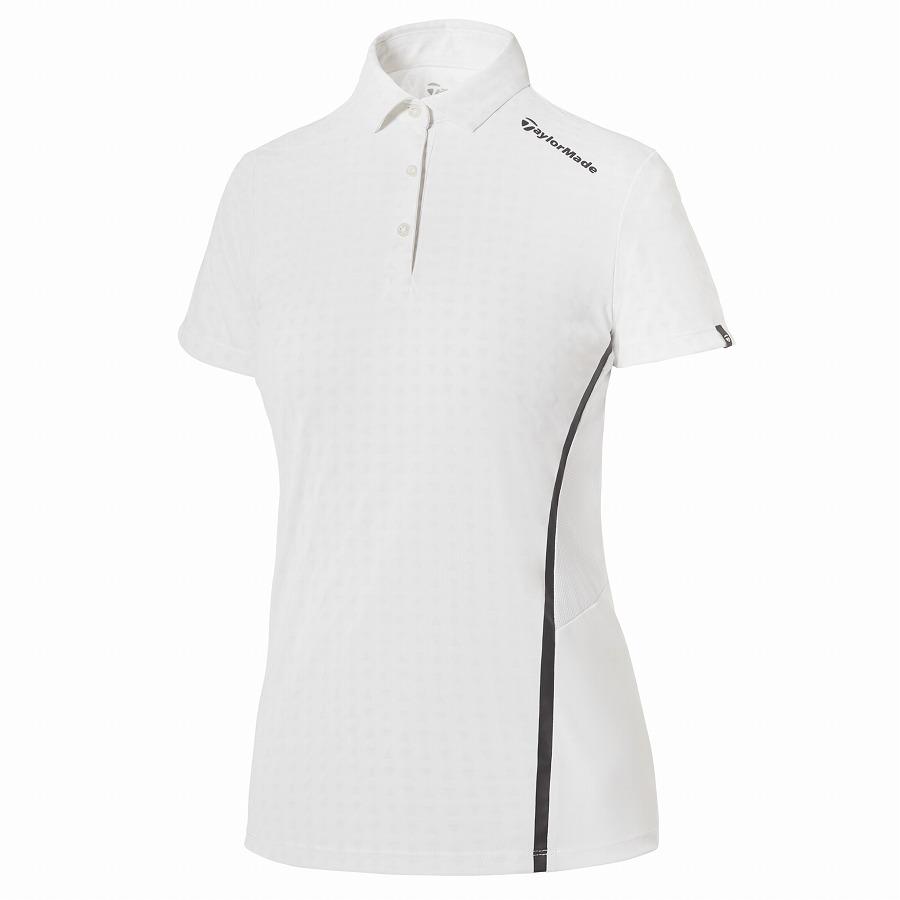 テーラーメイドゴルフ(TaylorMade Golf) テイラードクール サマー S/S ポロ/ホワイト
