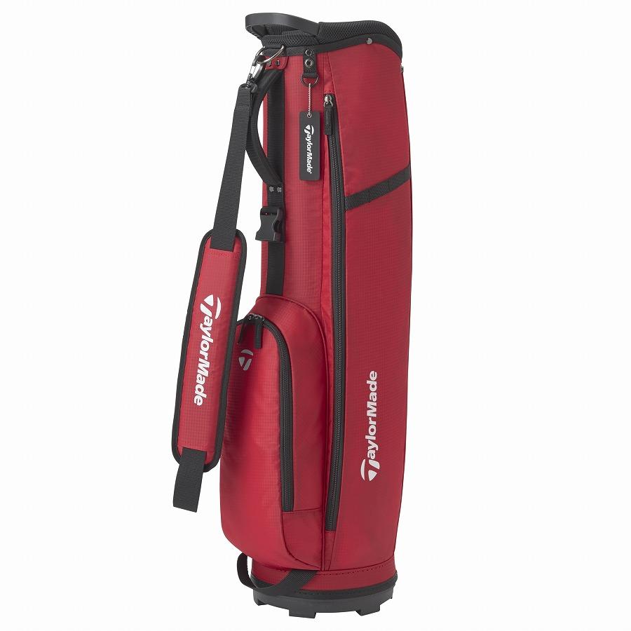テーラーメイドゴルフ(TaylorMade Golf) スリム 7 キャディバッグ/レッド /KY834 /M72310