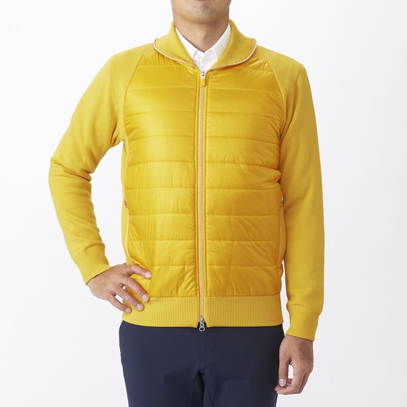 テーラーメイドゴルフ(TaylorMade Golf) ウィンターファブリックミックスセーター/イエロー /KX699 /U23686