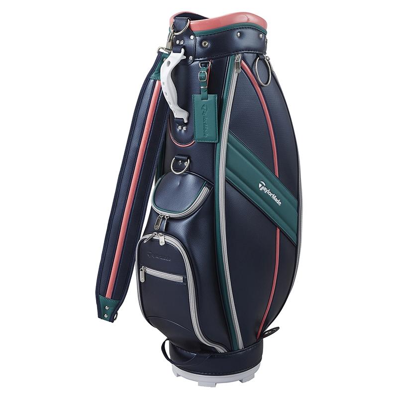 テーラーメイドゴルフ(TaylorMade Golf) TM18 ウィメンズ キャディバッグ/ネイビー/グリーン /KL991 /U23423