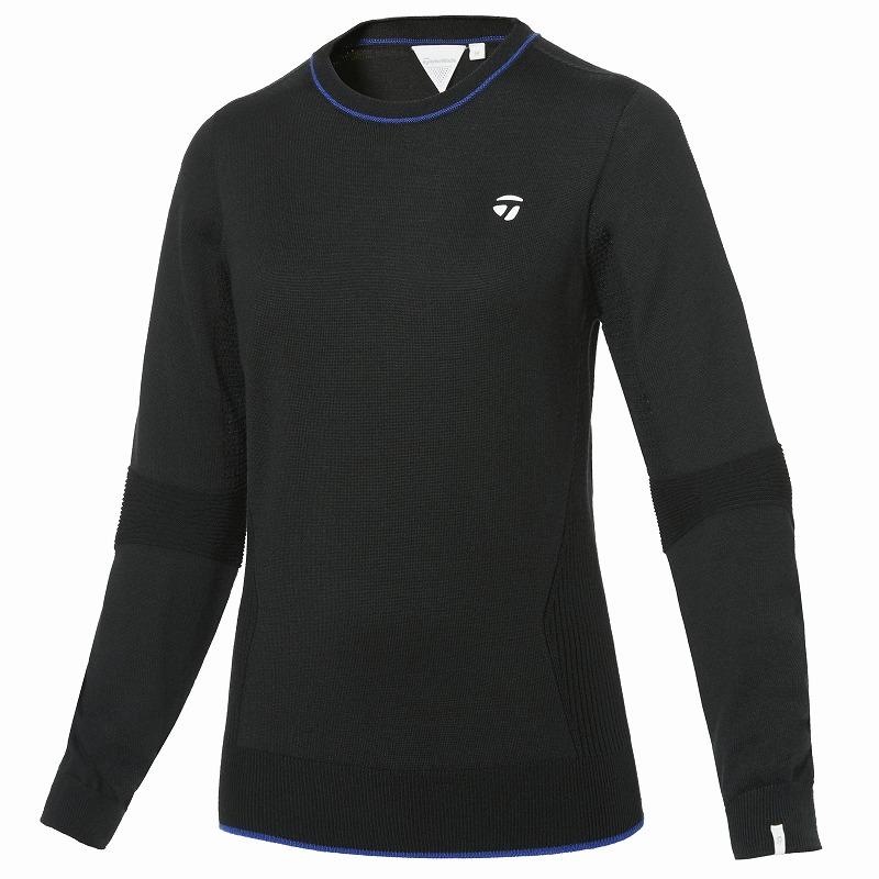テーラーメイドゴルフ(TaylorMade Golf) 【ウィメンズ】 ホールガーメントクルーセーター/ブラック /KY552 /U32543
