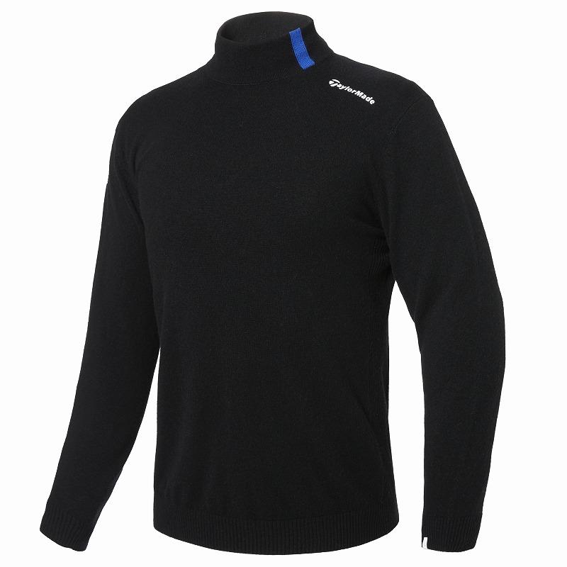 テーラーメイドゴルフ(TaylorMade Golf) 【メンズ】 カシミヤブレンドハイネックセーター/ブラック /KY548 /U32529