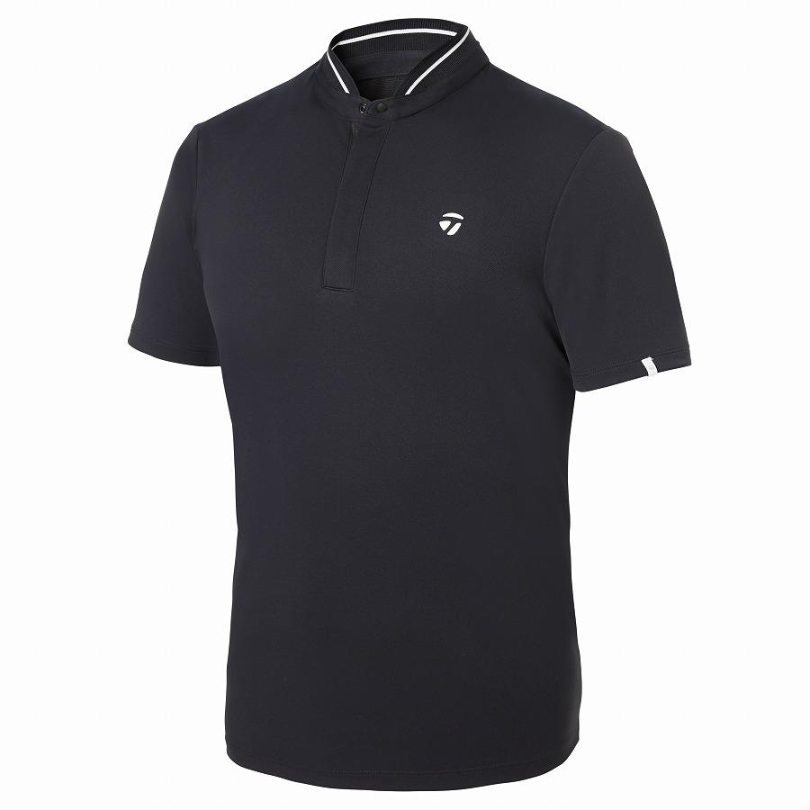 テーラーメイドゴルフ(TaylorMade Golf) スタンドカラー S/S ポロ/ブラック /KY670 /U32829