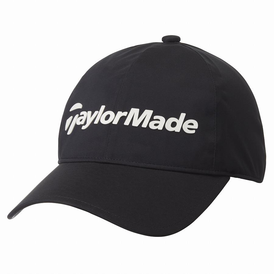 日本製 公式ショップ TaylorMade Golf テーラーメイド レインキャップ 入荷予定 ゴルフ ブラック