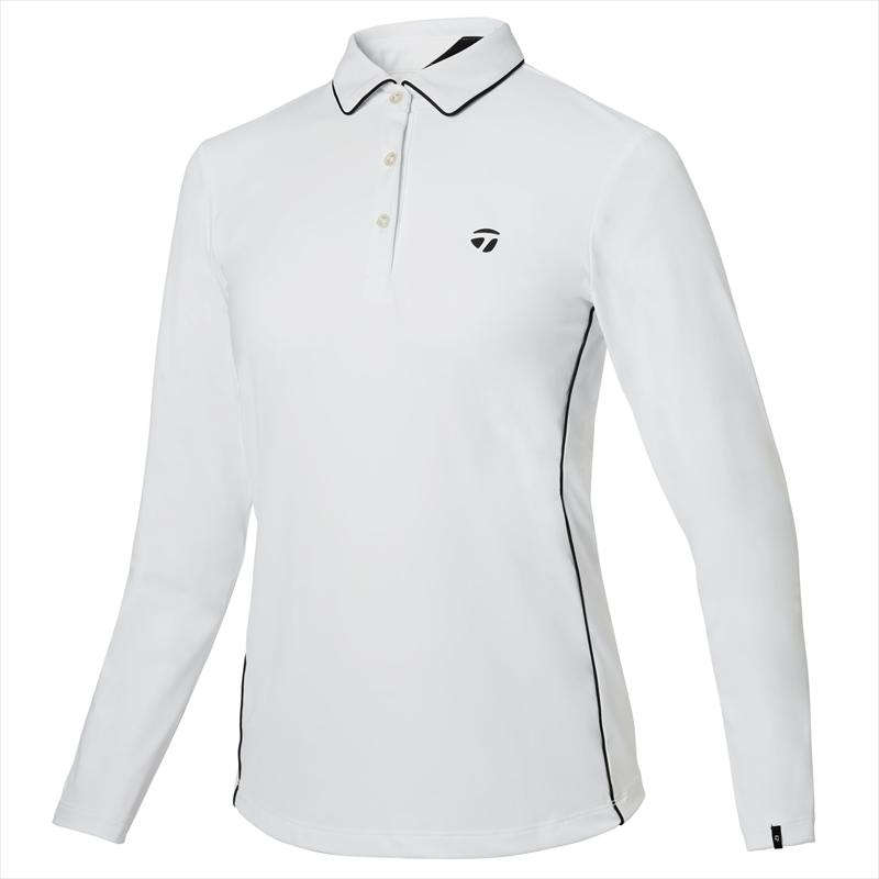 テーラーメイドゴルフ(TaylorMade Golf) 【ウィメンズ】 テーラードストレッチ L/S ポロ/ホワイト /KY561 /U32565