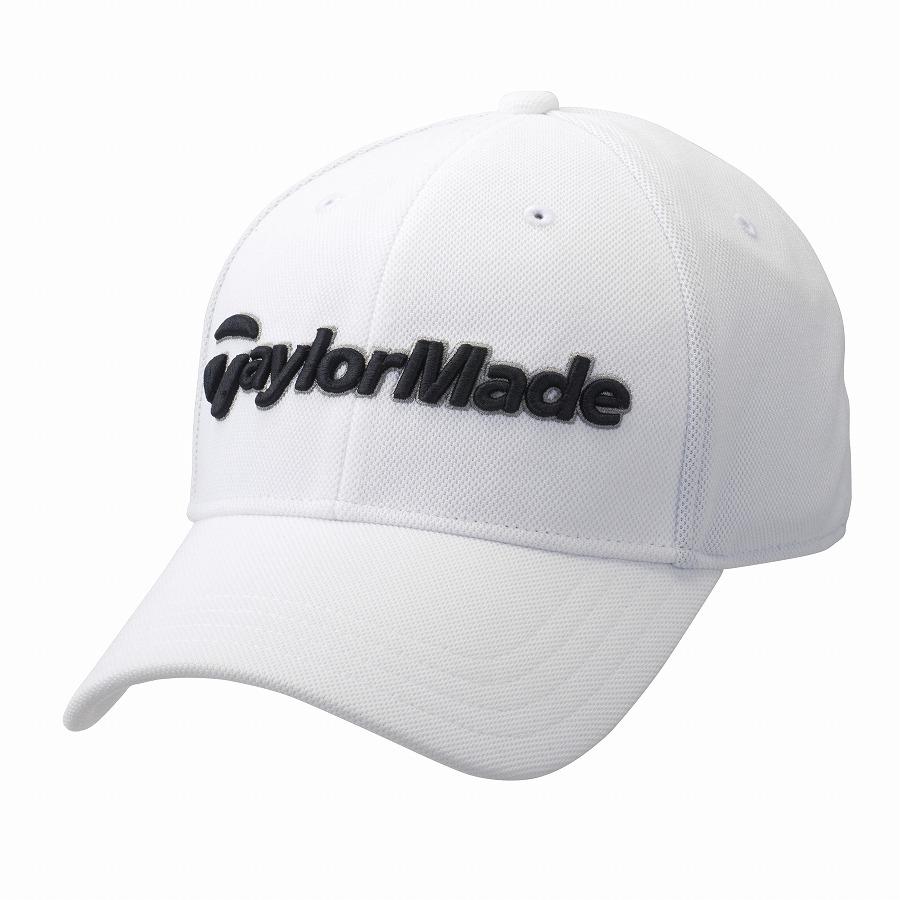 定番 交換無料 公式ショップ TaylorMade Golf テーラーメイド ホワイト ゴルフ ウィンターキャップ