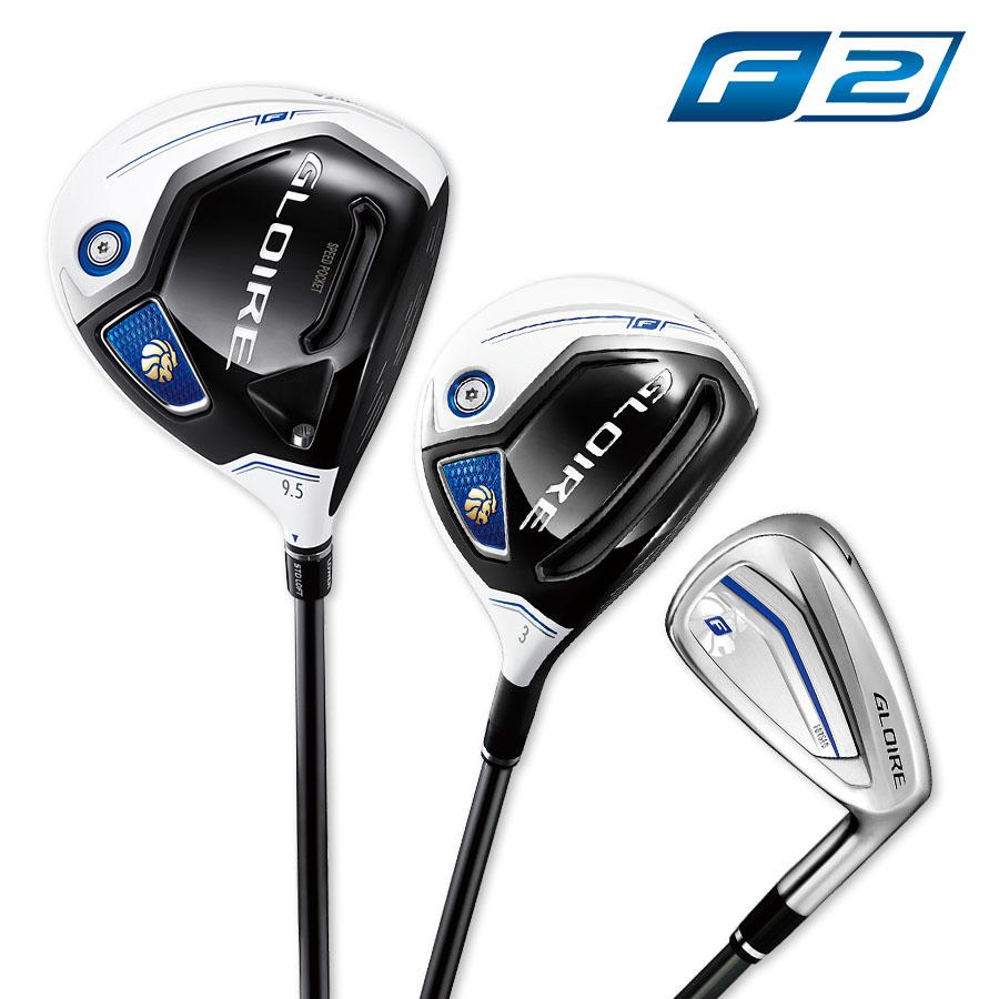 テーラーメイドゴルフ(TaylorMade Golf) 【お買い得セット】 グローレ F (GLOIRE F) カーボンS/7本セット(DR10.5S・FW#3S・アイアンスチールS #6-P)