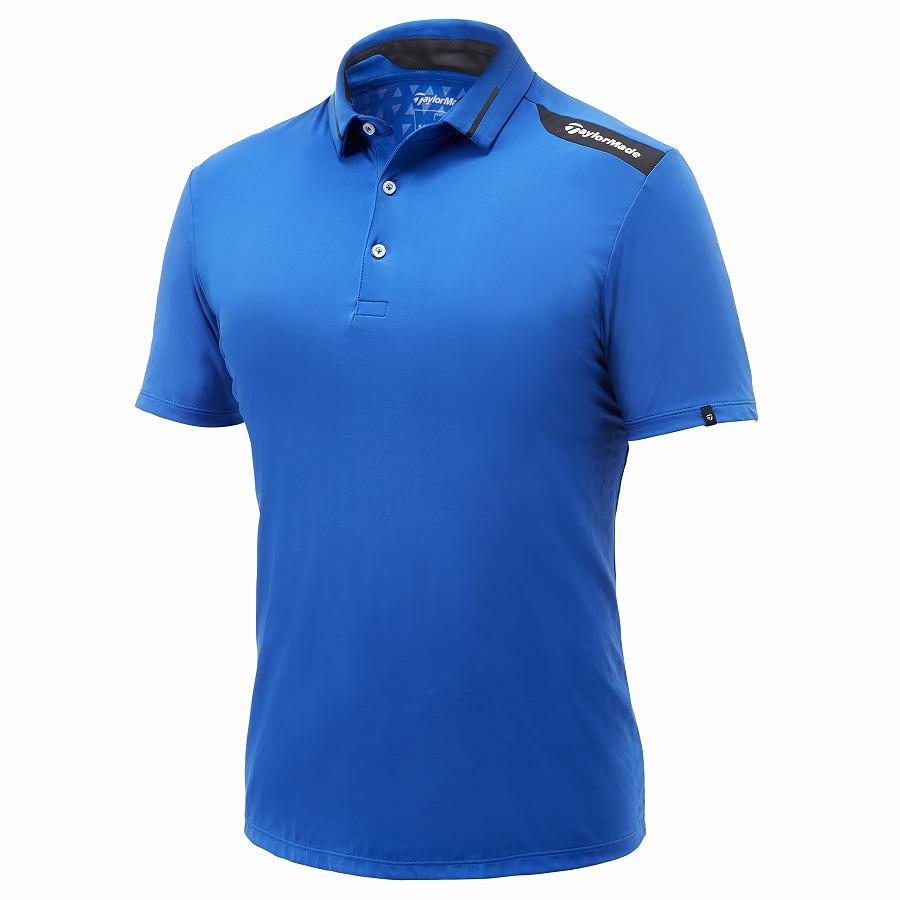 テーラーメイドゴルフ(TaylorMade Golf) テイラードクール S/S ポロ/ブルー /KY668 /U32823