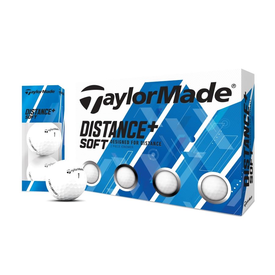 オンライン限定商品 公式ショップ TaylorMade Golf テーラーメイド ディスタンス+ ボール ソフト 年中無休 ゴルフ