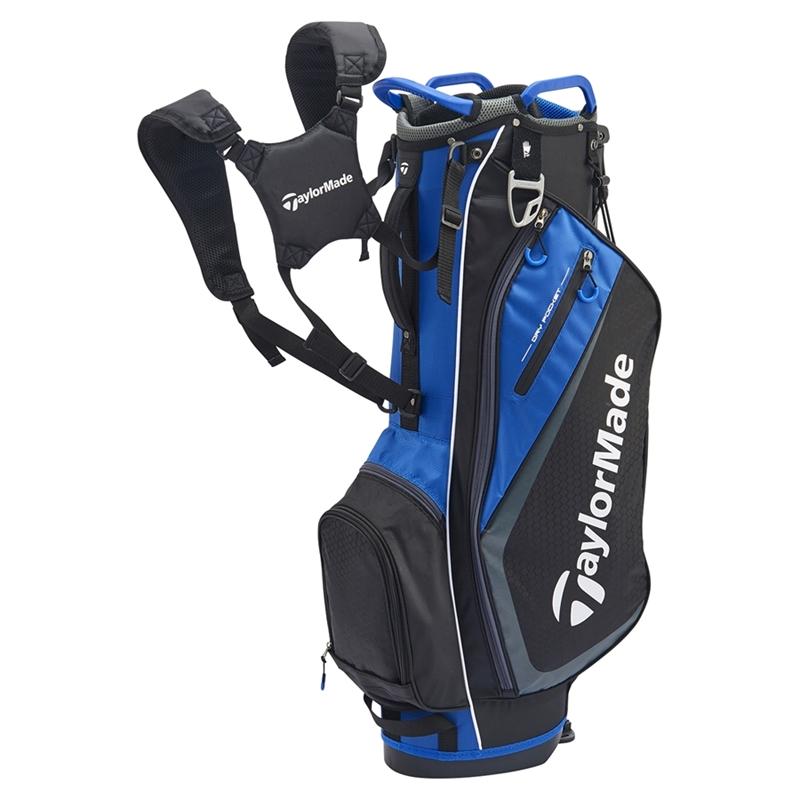 テーラーメイドゴルフ(TaylorMade Golf) TM セレクトプラス スタンドバッグ/ブラック/ブルー /JJJ45 /N77279
