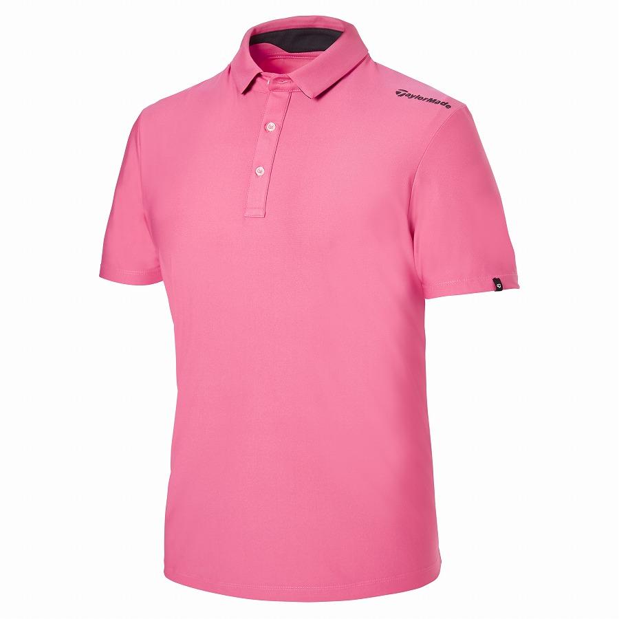テーラーメイドゴルフ(TaylorMade Golf) テイラード S/S ポロ/ピンク /KY669 /U32827