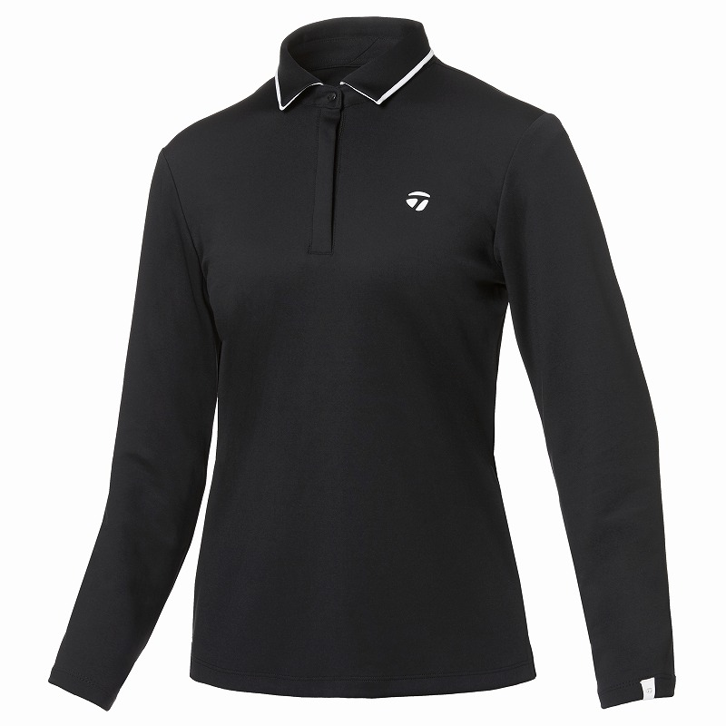 テーラーメイドゴルフ(TaylorMade Golf) 【ウィメンズ】 コントラストカラーエッジ L/S ポロ/ブラック /KY564 /U32576