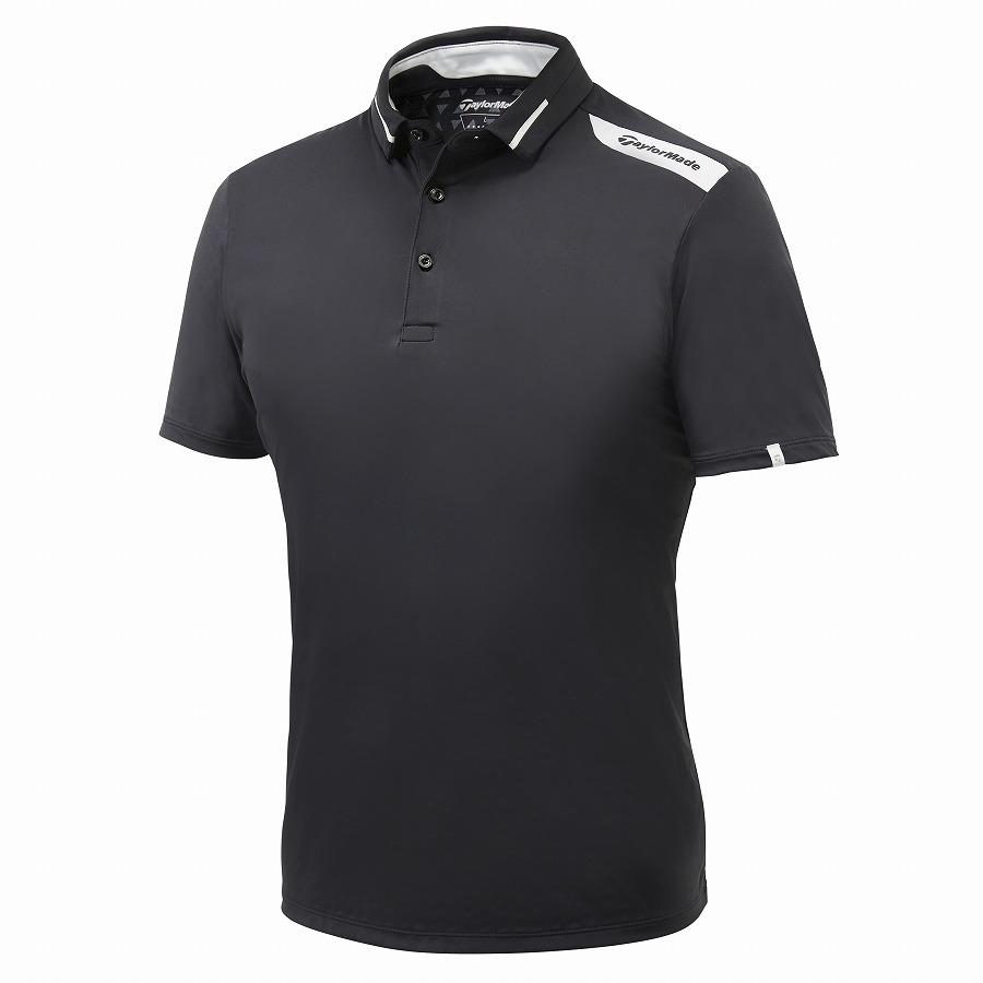 テーラーメイドゴルフ(TaylorMade Golf) テイラードクール S/S ポロ/ブラック /KY668 /U32822