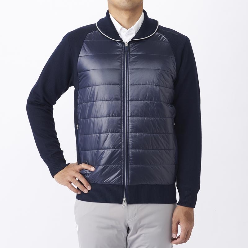 テーラーメイドゴルフ(TaylorMade Golf) ウィンターファブリックミックスセーター/ネイビー /KX699 /U23685