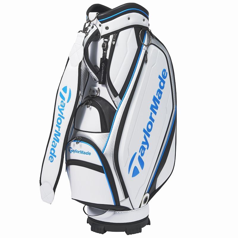 テーラーメイドゴルフ(TaylorMade Golf) オーステック キャディバッグ/ホワイト/シルバー /KY830 /M72295