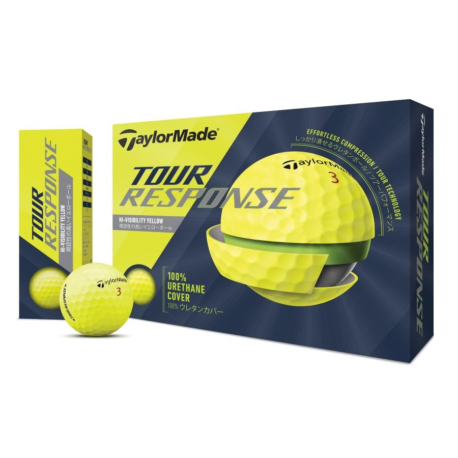 公式ショップ TaylorMade Golf 価格 交渉 送料無料 テーラーメイド ボール ゴルフ イエロー プレゼント ツアーレスポンス