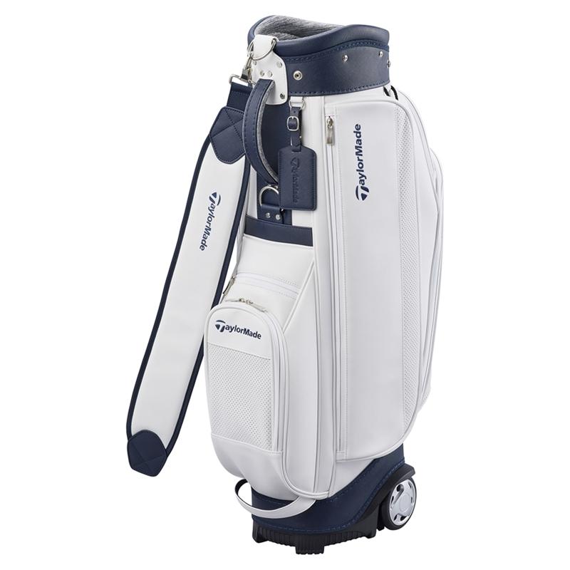 テーラーメイドゴルフ(TaylorMade Golf) TM ウィメンズ キャスターキャディバッグ/ホワイト/ネイビー /KY332 /U24400