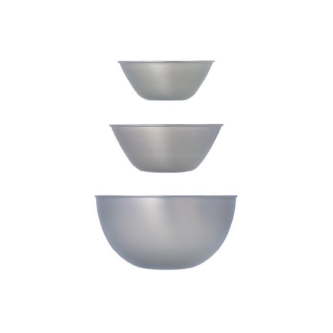 [3点セット] 柳宗理 ステンレスボール 16.19.23 3pcs (16cm/19cm/23cm) 【 日本製 ボウル セット 調理器具 キッチン用品 デザイン シンプル おしゃれ 】