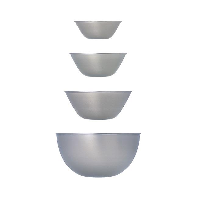 [4点セット] 柳宗理 ステンレスボール 13.16.19.23 4pcs (13cm/16cm/19cm/23cm) 【 日本製 ボウル 調理器具 キッチン用品 デザイン シンプル おしゃれ 】