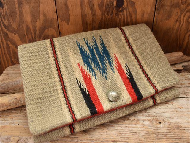 Vintage Gans Craft(ガンズクラフト) チマヨ ラグ パース クラッチ バッグ