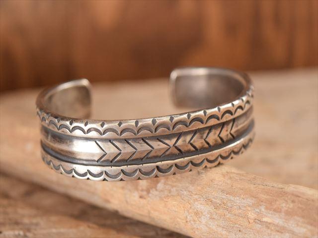 Indian Jewelry ランディー ババ シャッケルフォード (Randy Bubba Shackelford)インゴット ヘビー バングル ftc