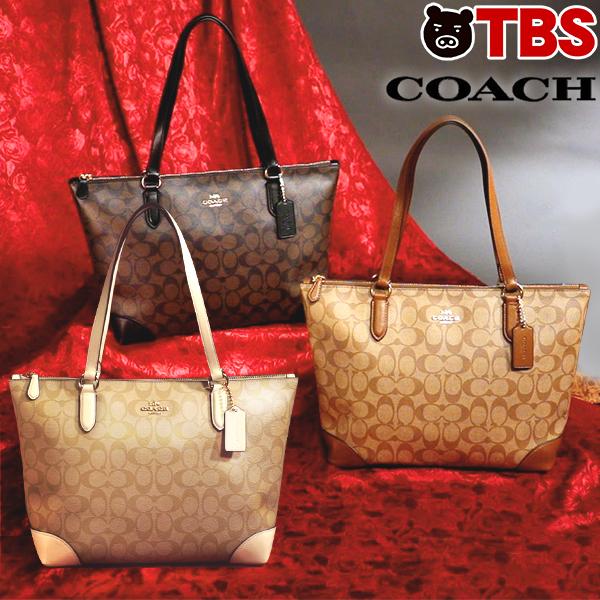 846bed77a15f コーチ COACH トリミング シグネチャー バッグ / ブランド トートバッグ トート バック かばん 鞄 ダークブラウン ホワイト