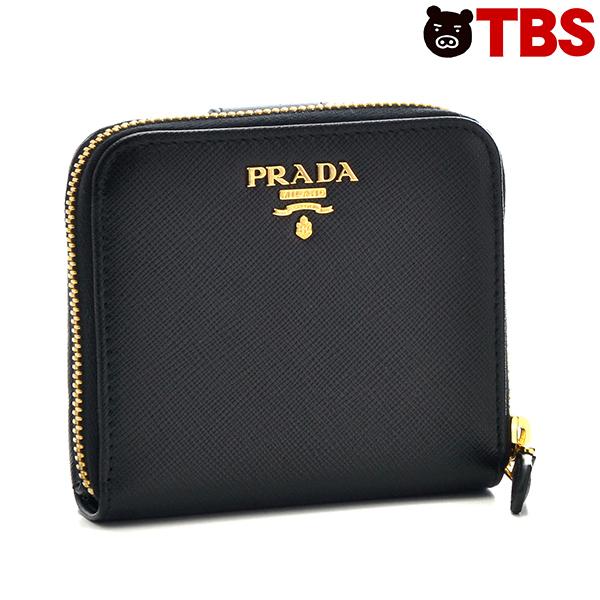 【特別価格】プラダ 折財布【TBSショッピング】